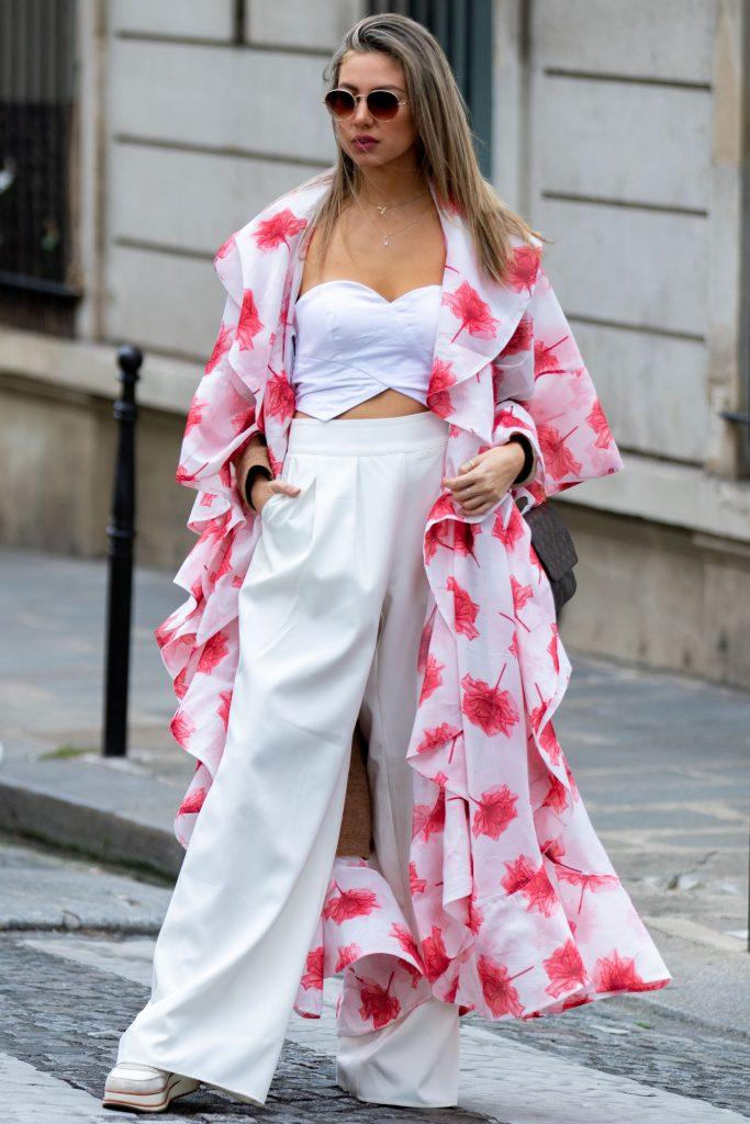 Altuzarra Street Style SS20 Paris Fashion Week PFW