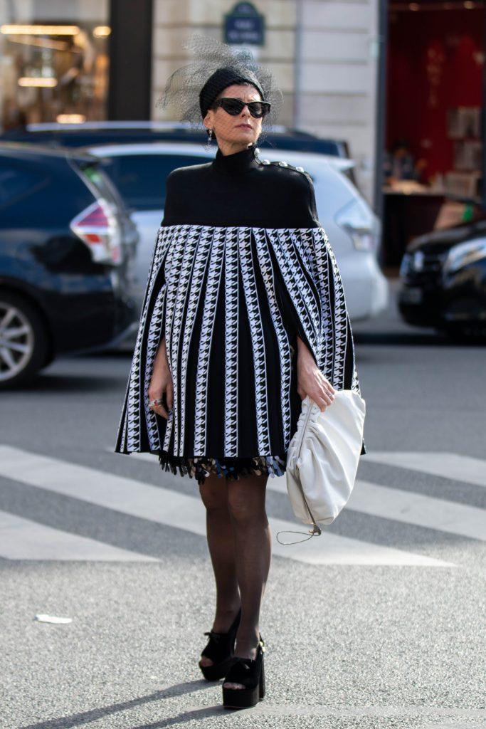 LK Levison Paris Fashion Week Balmain Street Style SS20