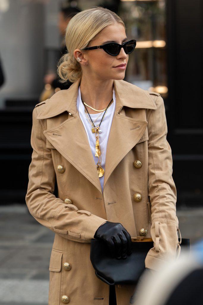 Caro Daur SS20 Street Style Paris Fashion Week Balmain