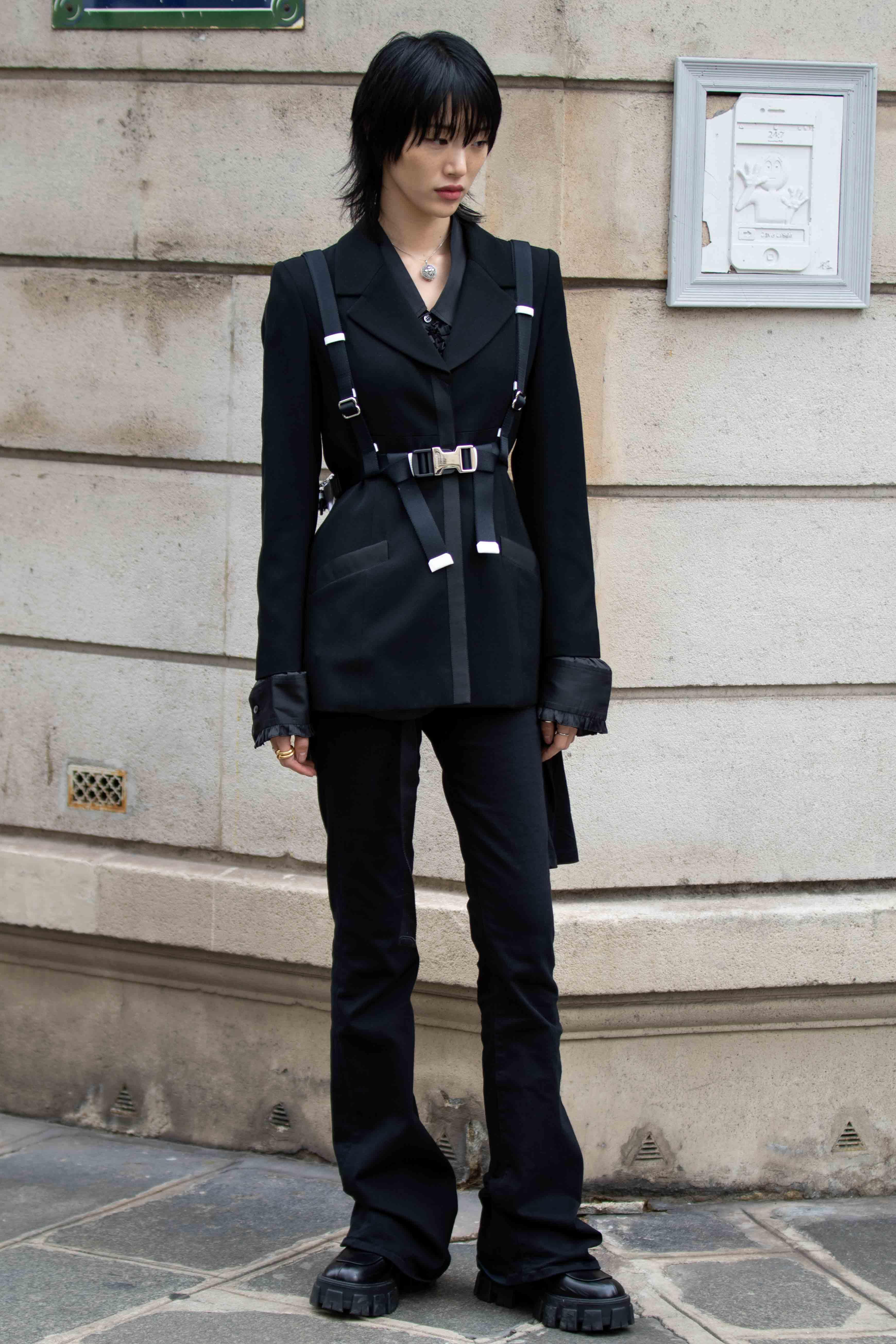Sora Choi Altuzarra SS20 Street Style Paris Fashion Week