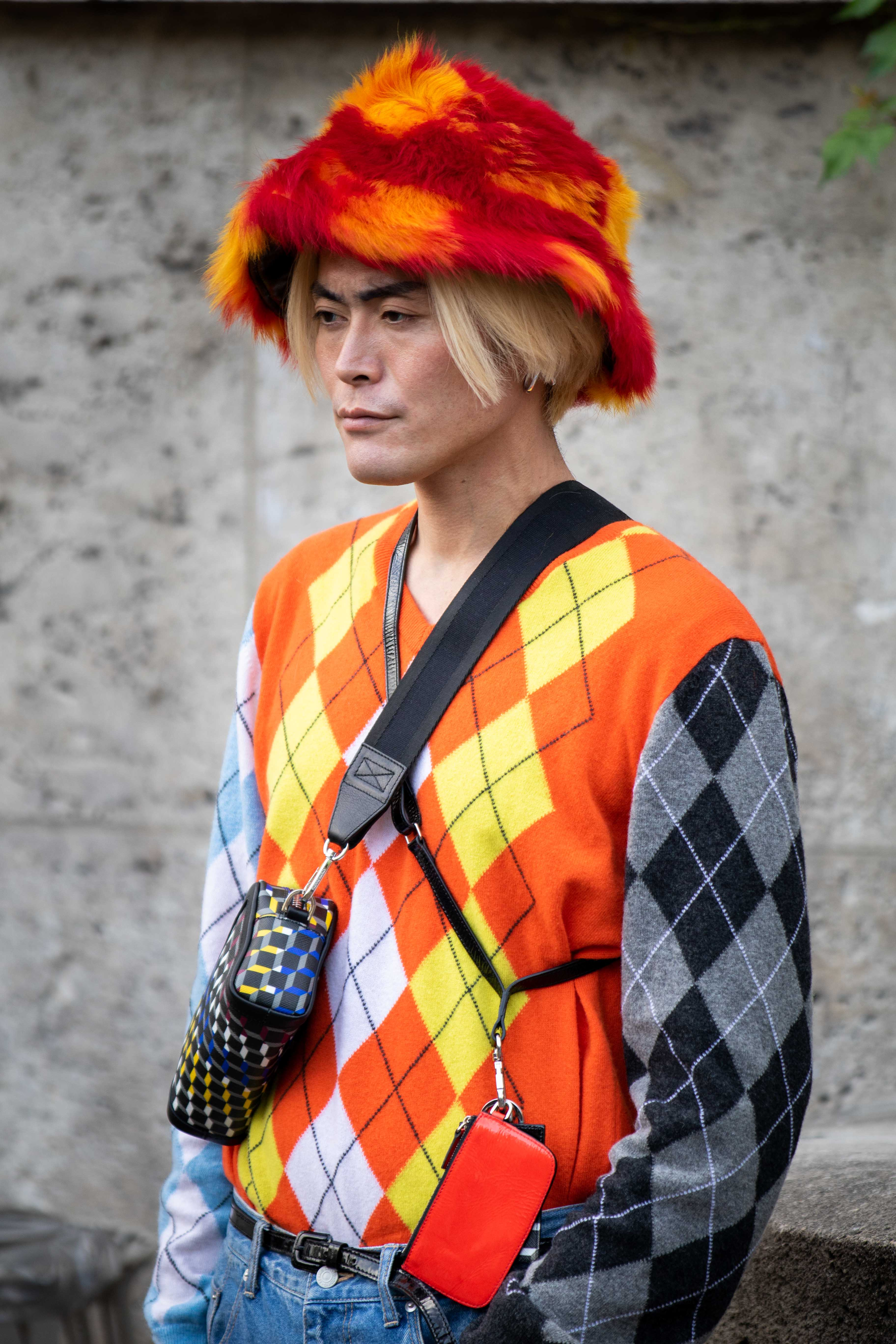 Yu Masui Paris Fashion Week SS20 Nina Ricci Street Style