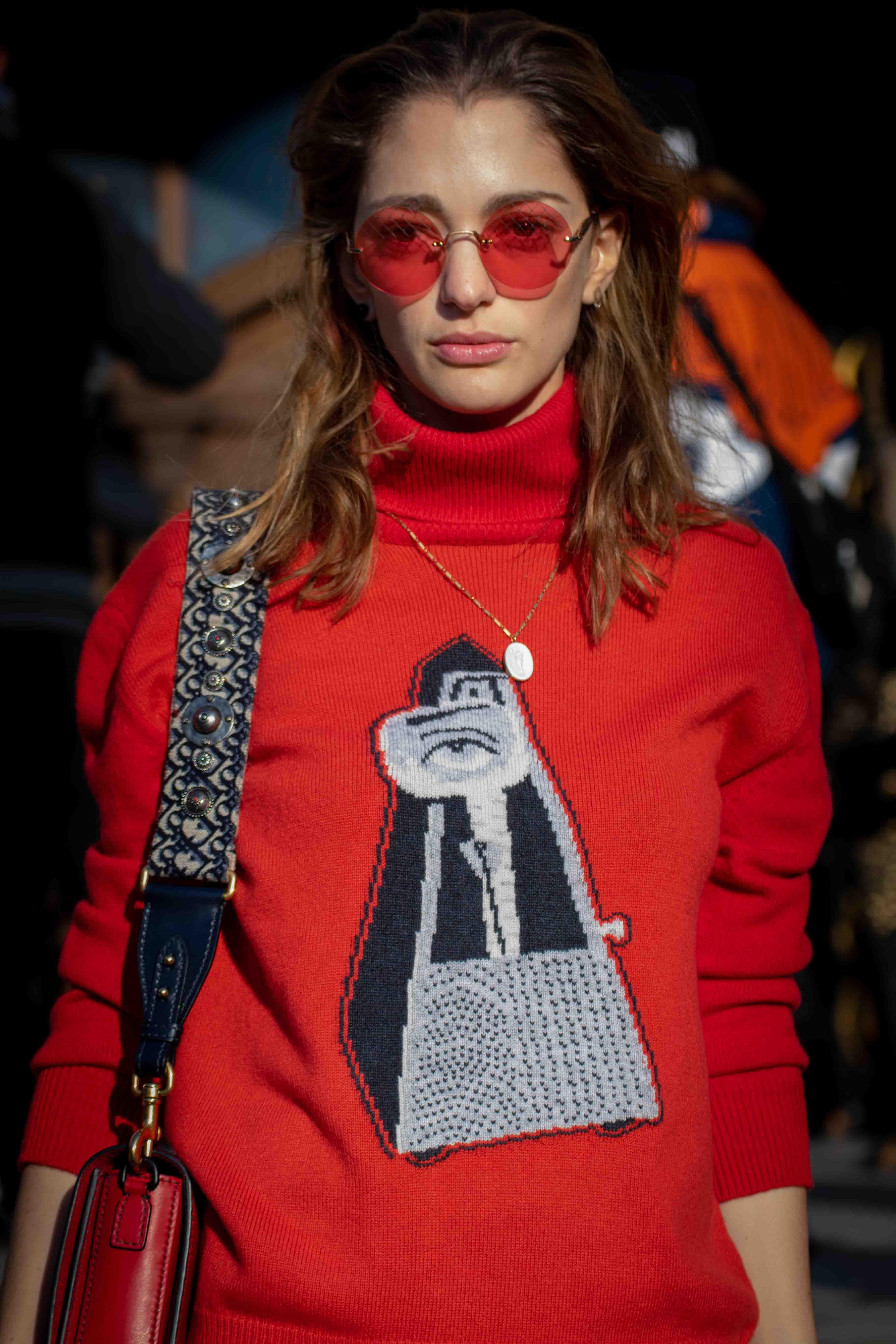 Sofia Sanchez De Betak Street Style Paris Fashion Week Haute Couture