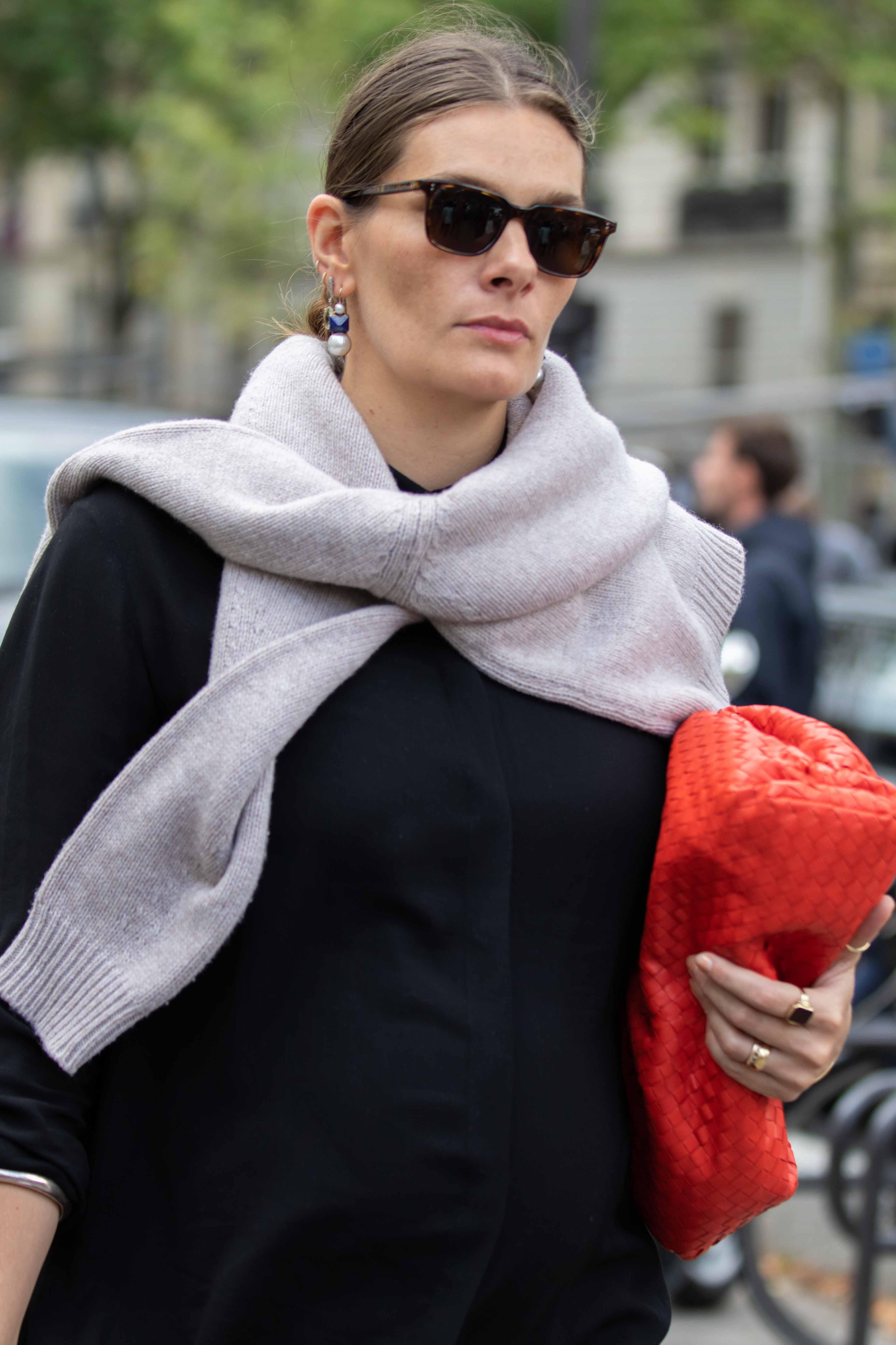 Paris Fashion Week Street Style Nina Ricci SS20