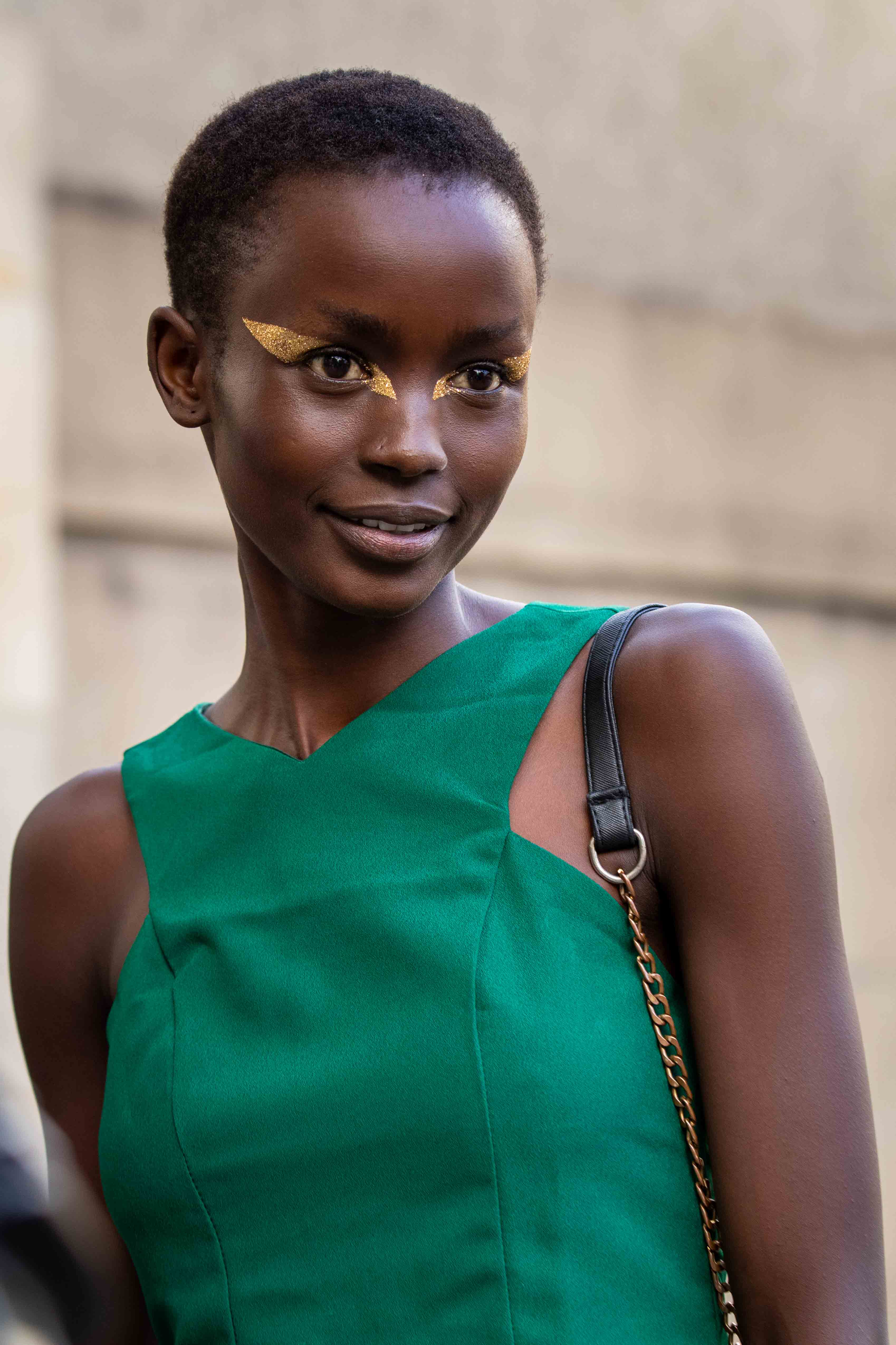 Paris Fashion Week Model Street Style Valentino SS20