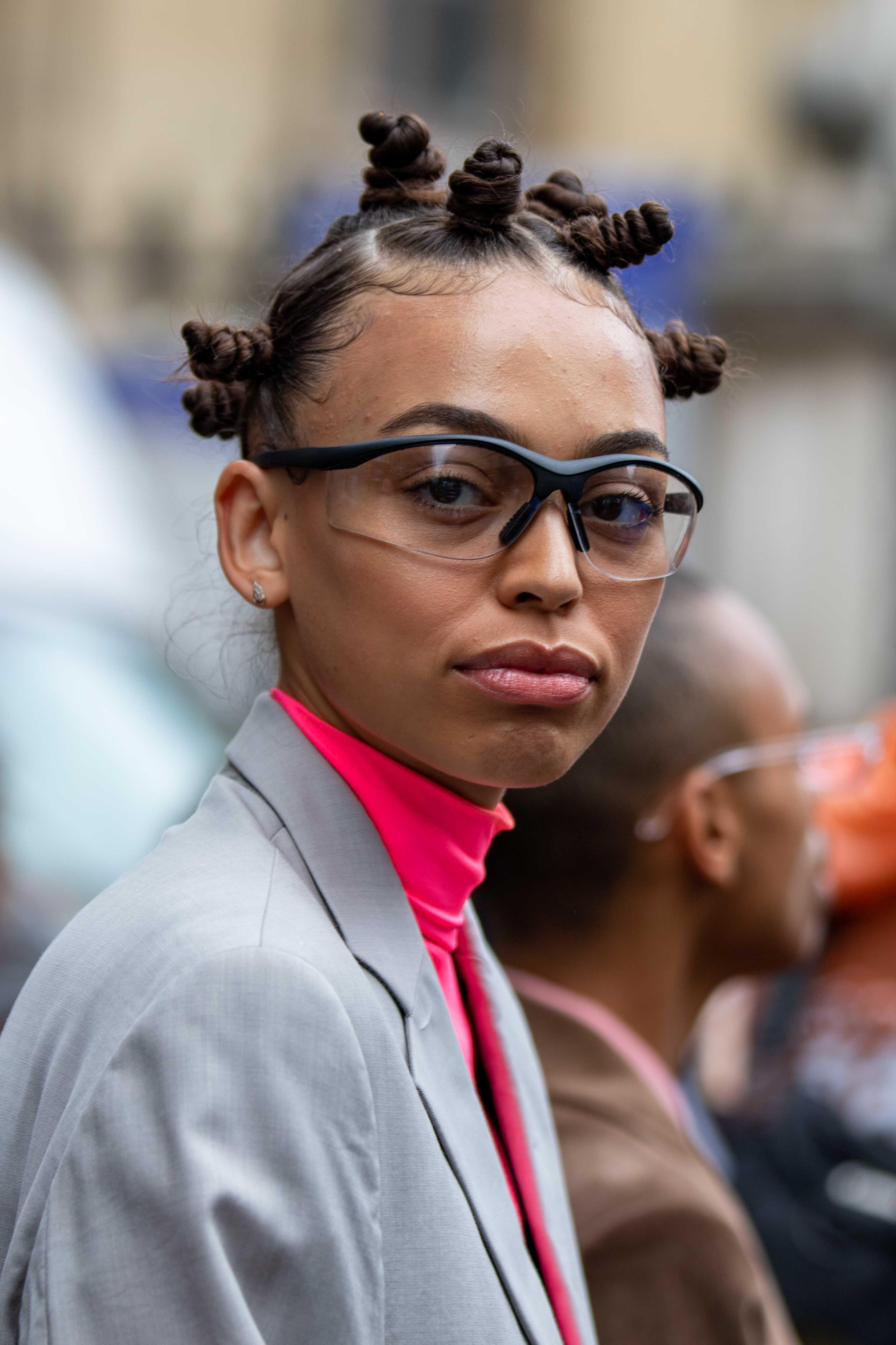 Paris Fashion Week Model Street Style Thom Browne SS20