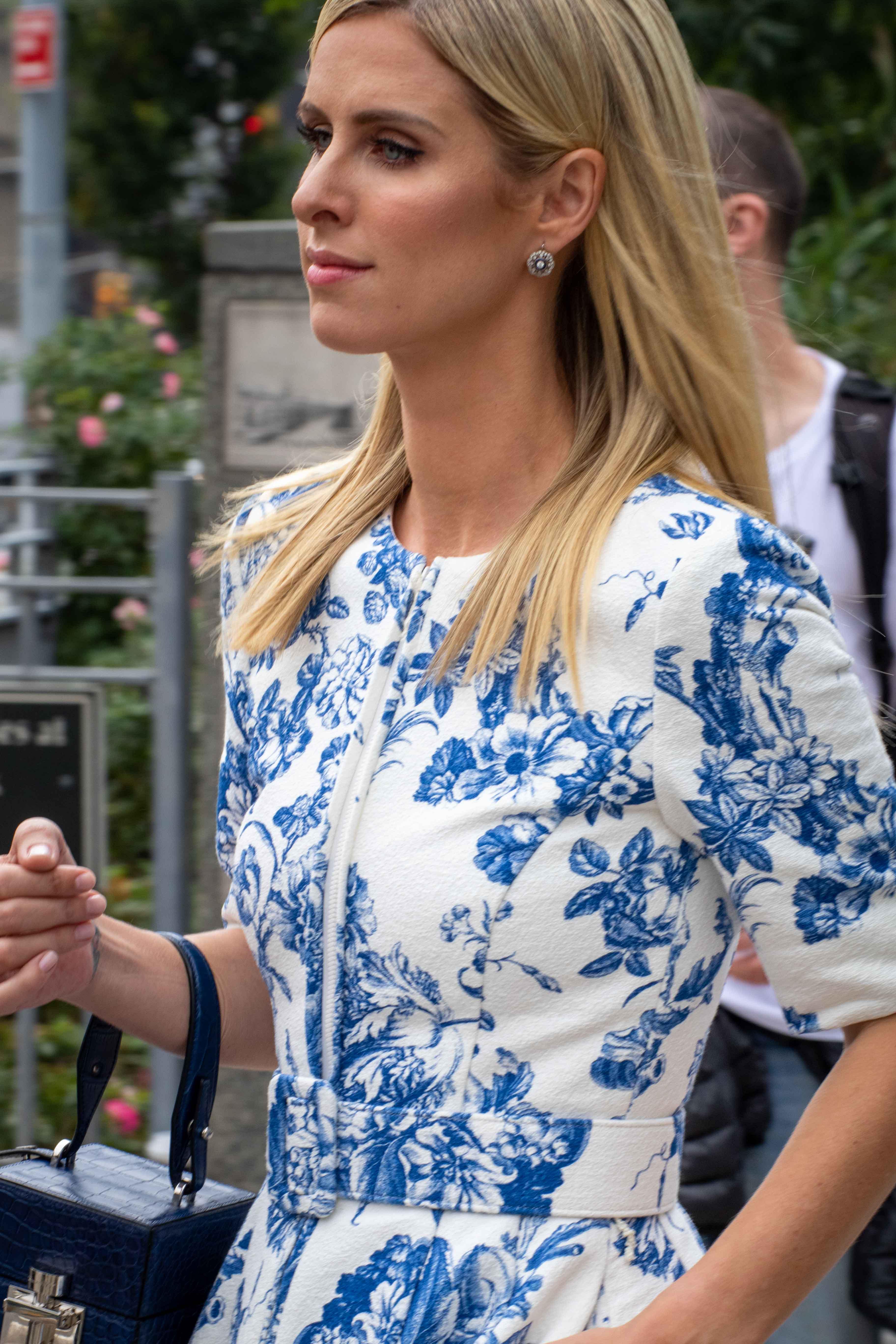 Nicky Hilton Rothschild at New York Fashion Week SS19 NYFW
