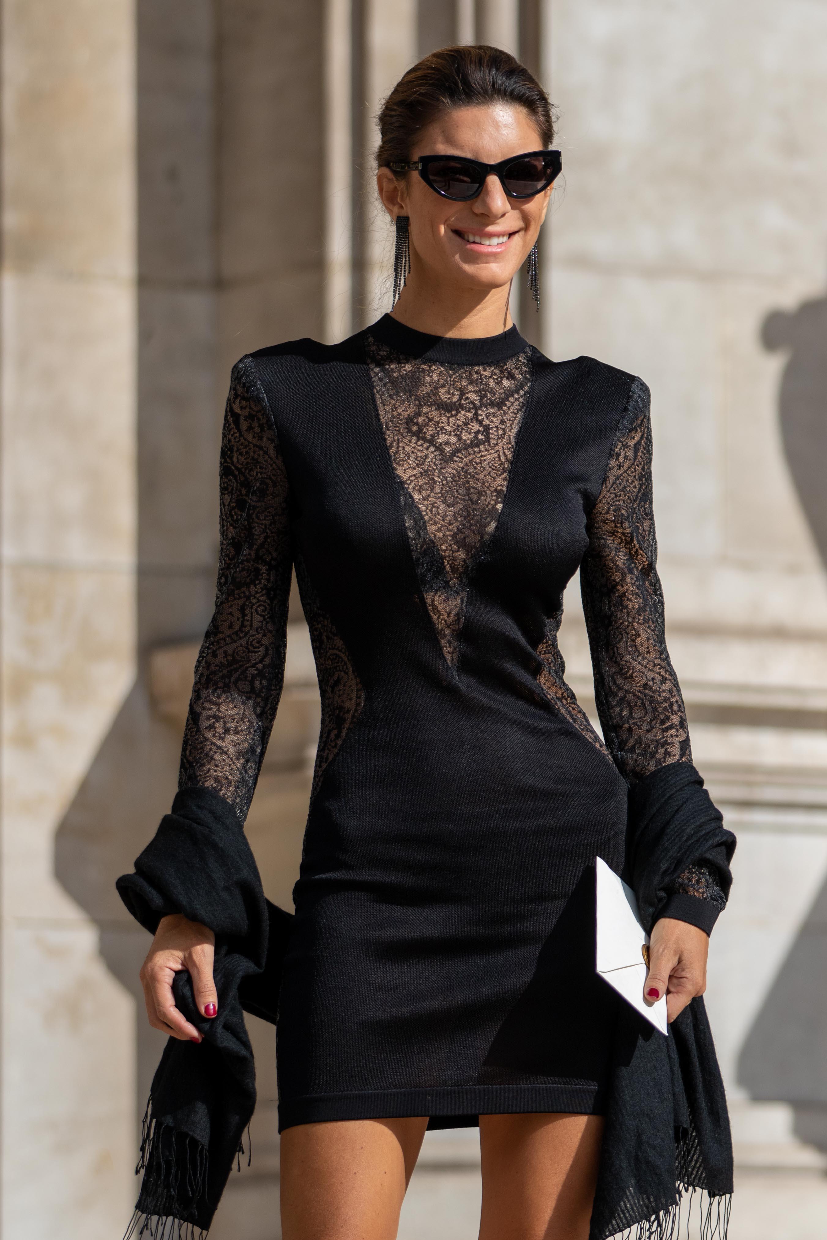 Paris Fashion Week Balmain SS20 Street Style