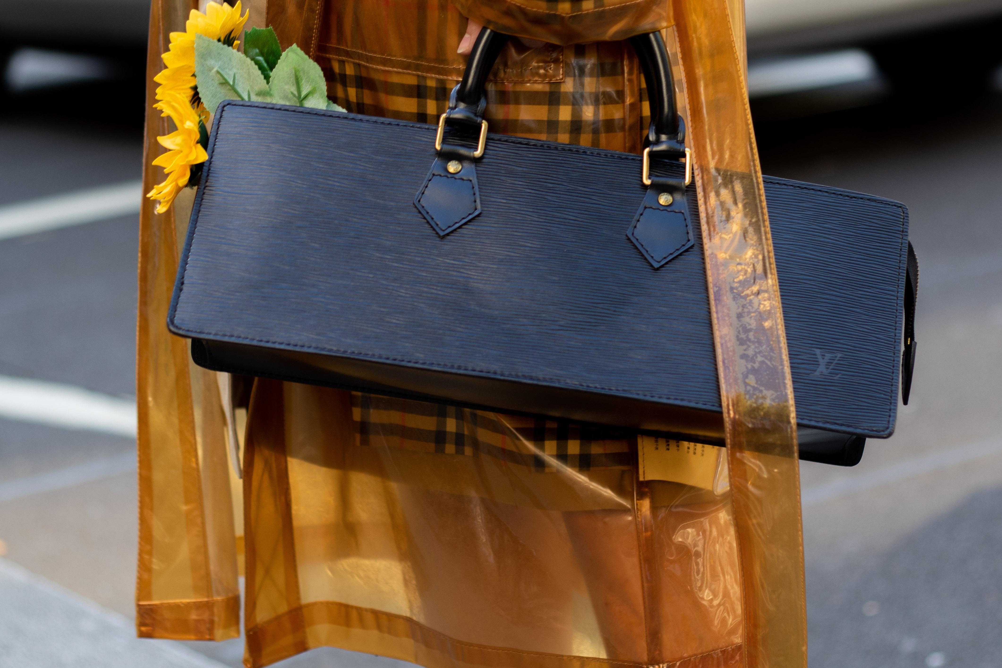 London Fashion Week SS20 Louis Vuitton Street Style