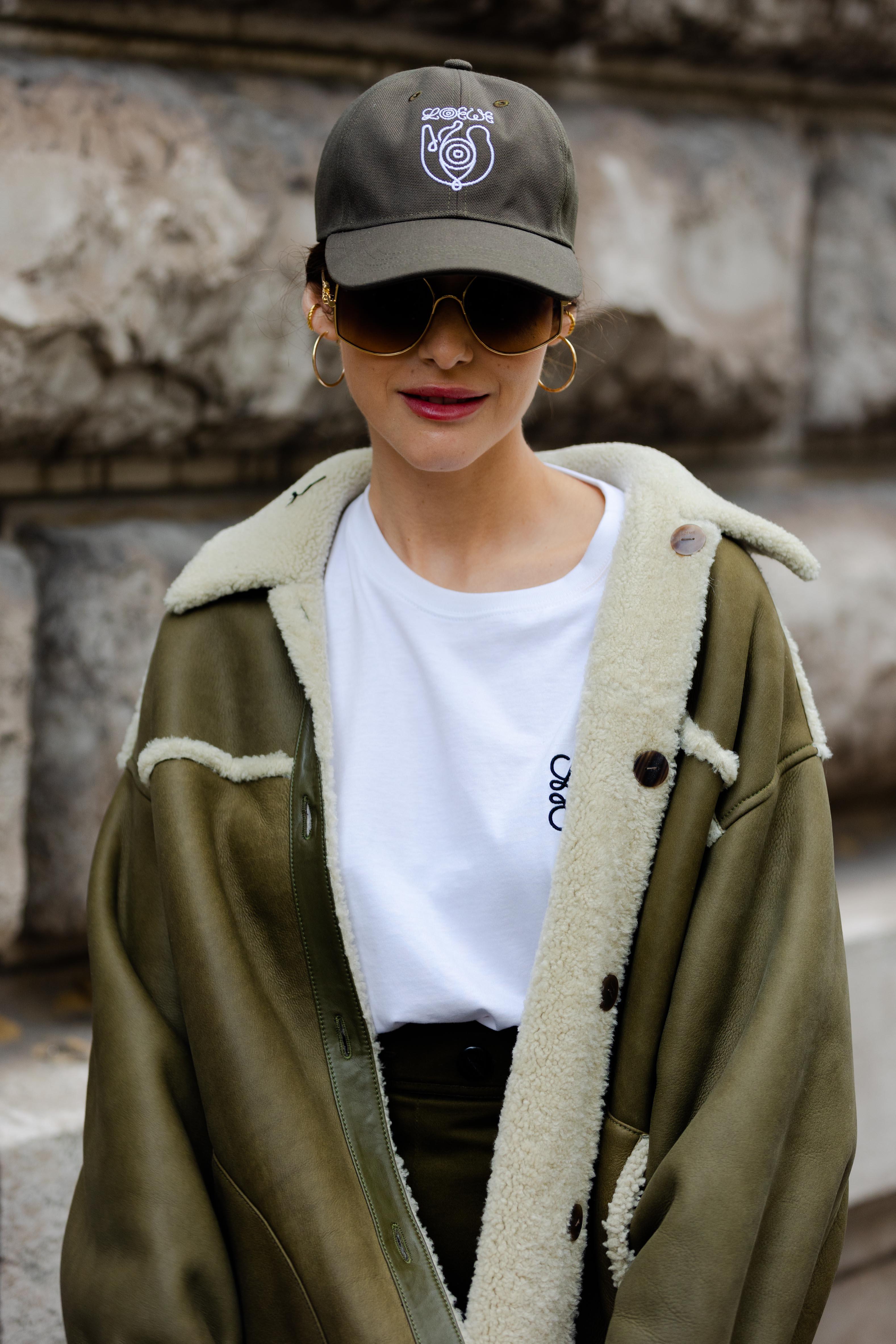 Street Style At Loewe SS22 Paris Fashion Week